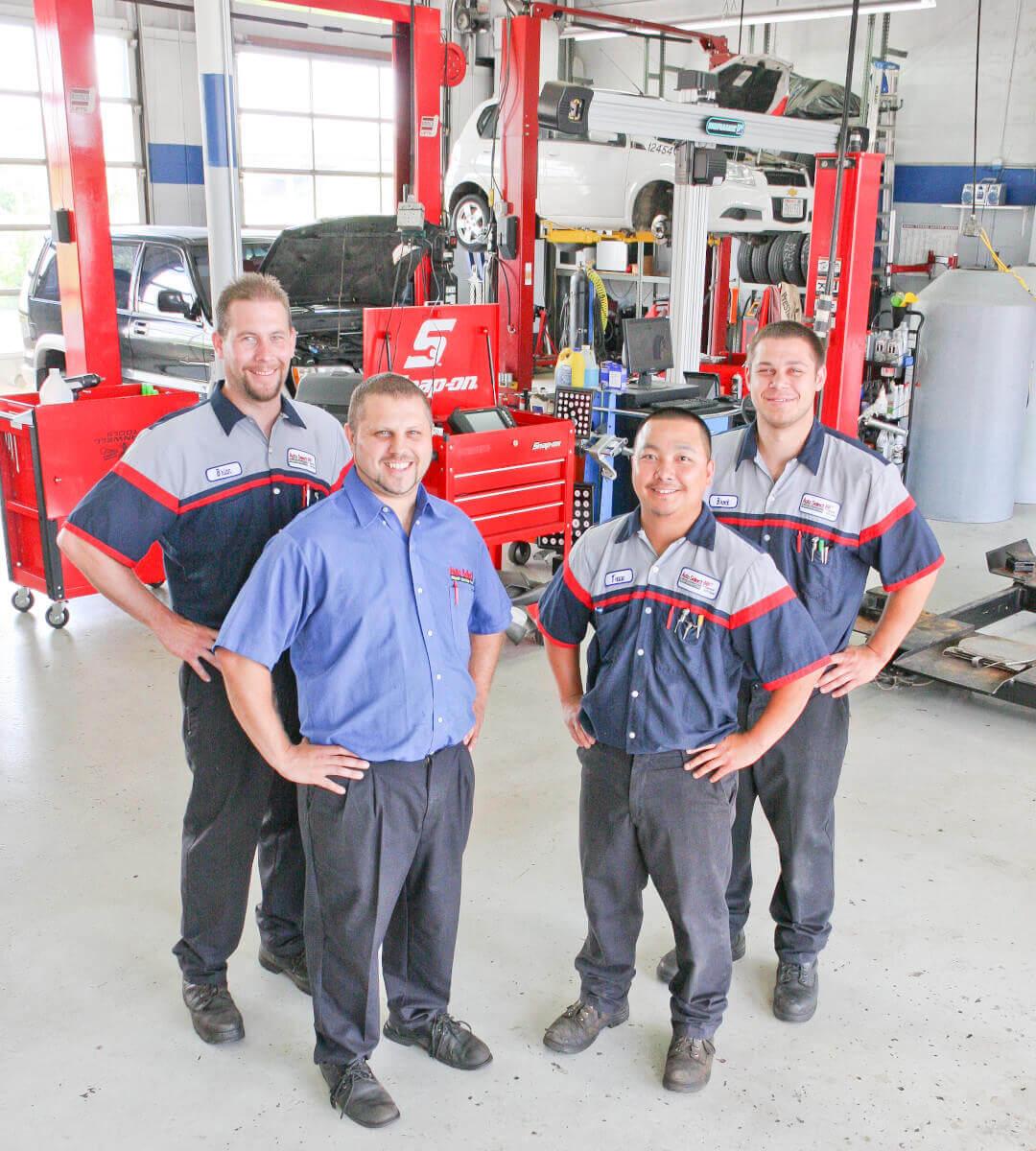 Now Hiring!  Auto Repair Careers in in Neenah WI