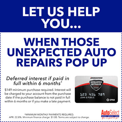 Affordable Auto Repair Financing in Weston, WI