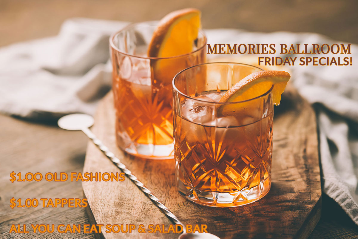 $1.00 Old Fashions in Central Wisconsin