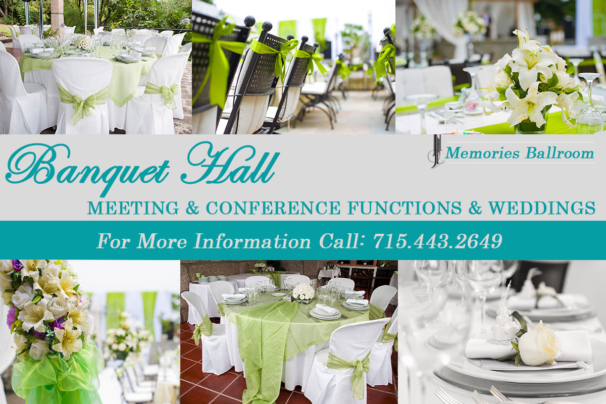 conferences Banquet Facility in Central Wisconsin