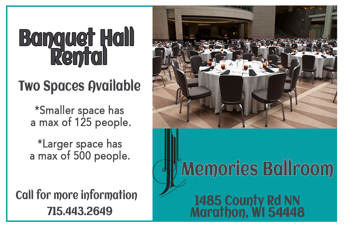 meetings Banquet Facility in Marathon City, WI