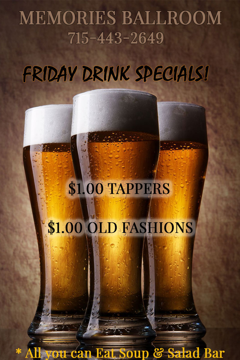 $1.00 Tappers in Marathon City, WI