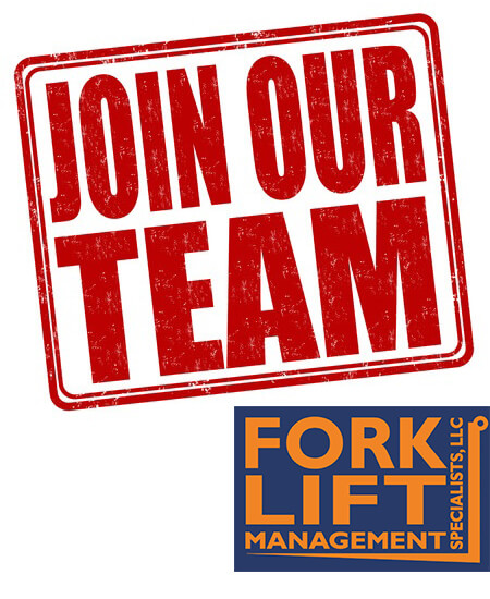 Help Wanted! hard-working Applicant At Forklift Management Specialists, LLC