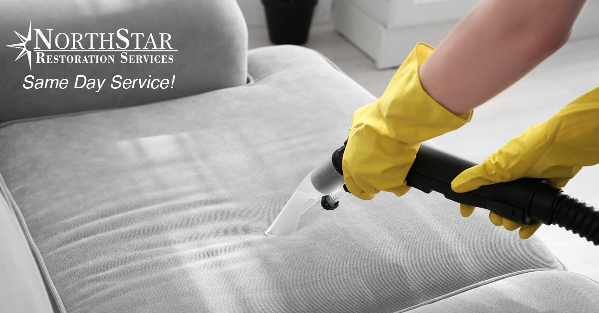 professional upholstery cleaning in Almond, WI