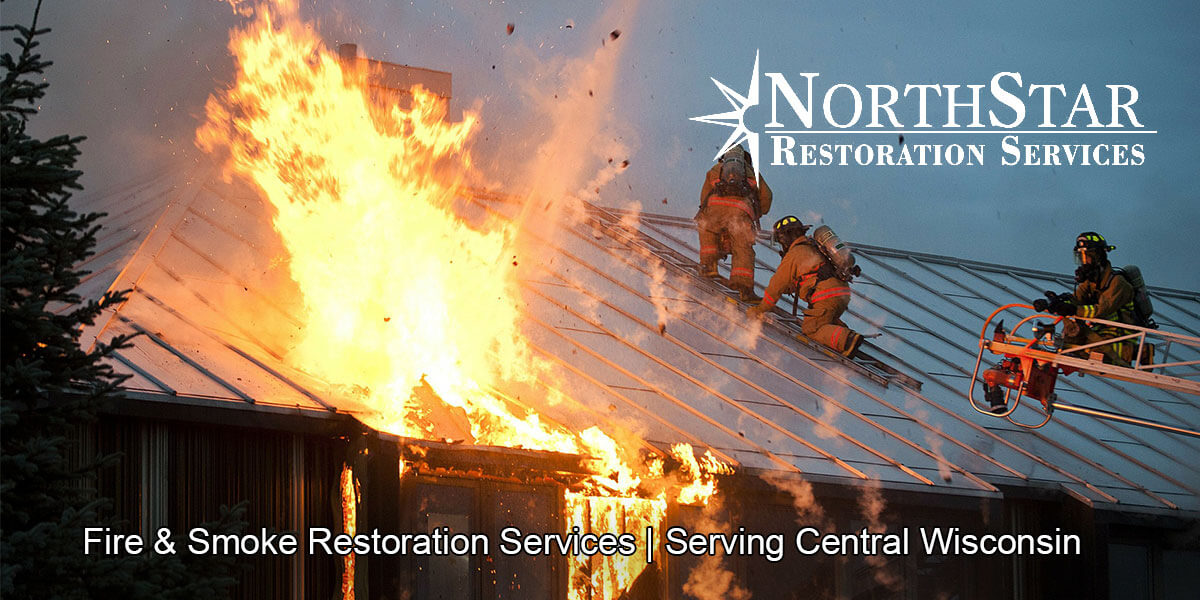 fire and smoke damage restoration in Almond, WI