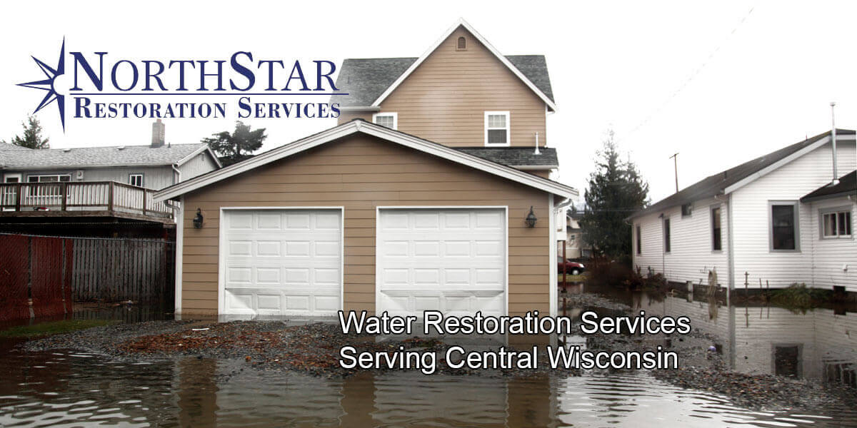 water damage repair in Stevens Point, WI