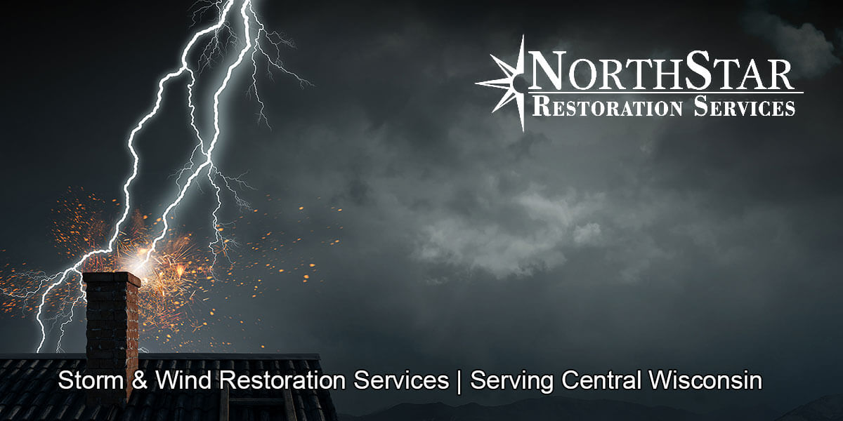 wind damage restoration in Auburndale, WI