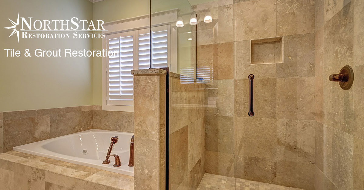 tile and grout restoration in Wisconsin Rapids, WI