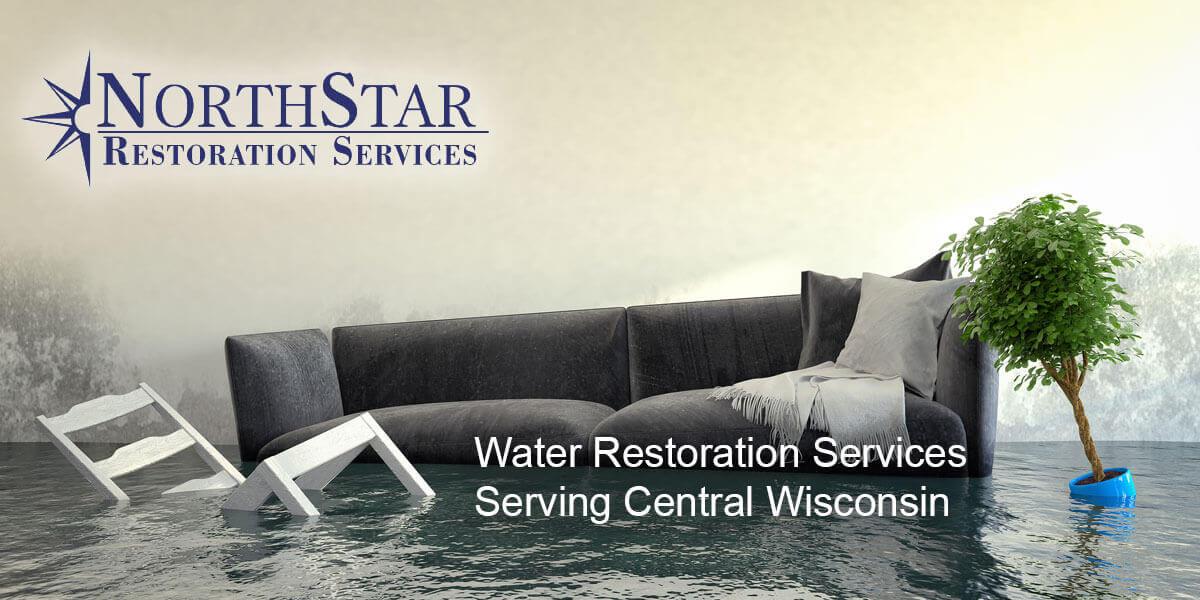 water damage repair in Almond, WI