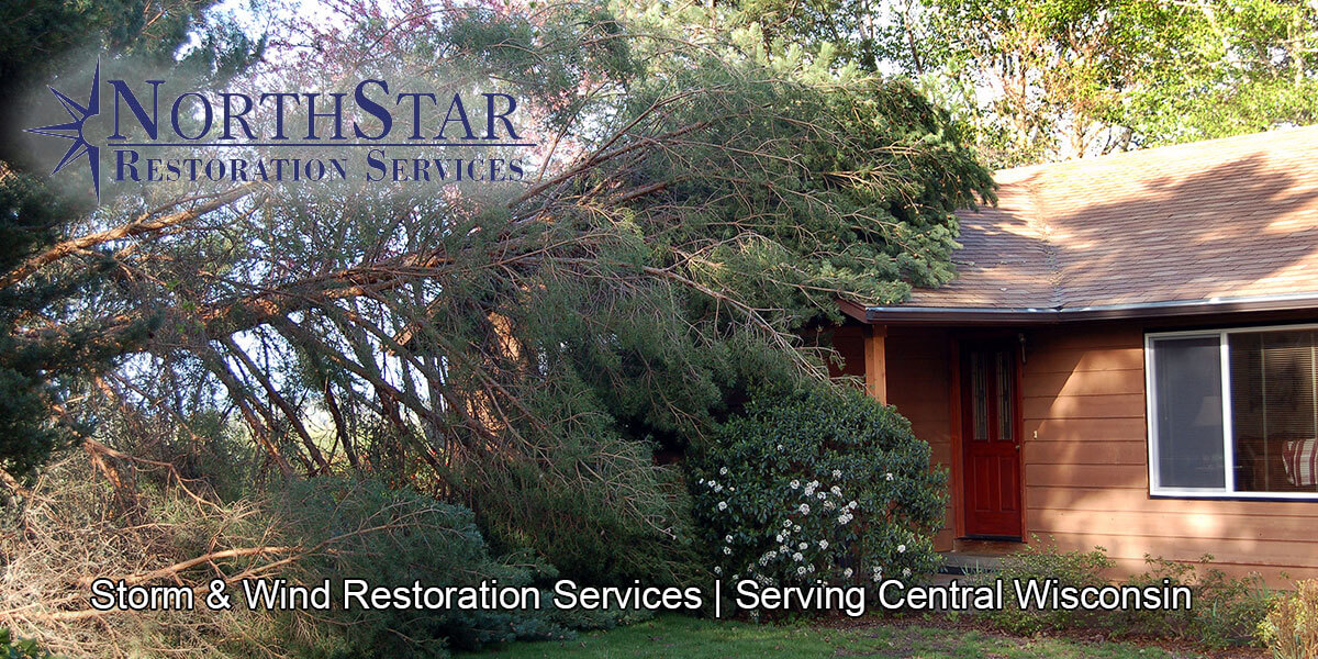 storm damage restoration in Plover, WI