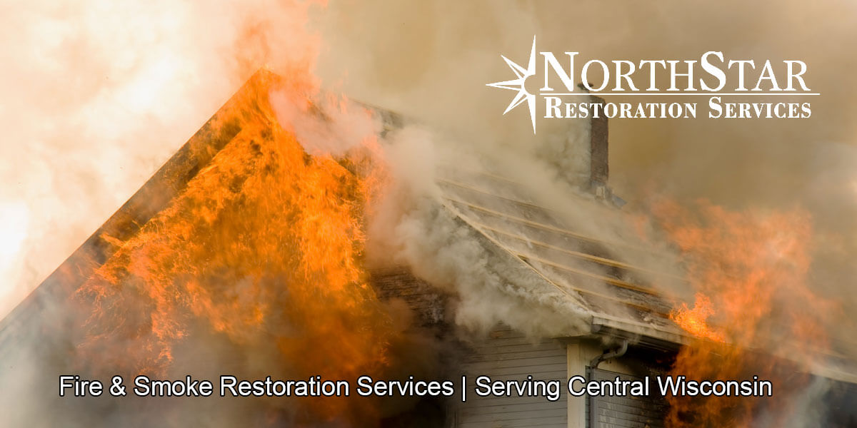 fire and smoke damage restoration in Athens, WI
