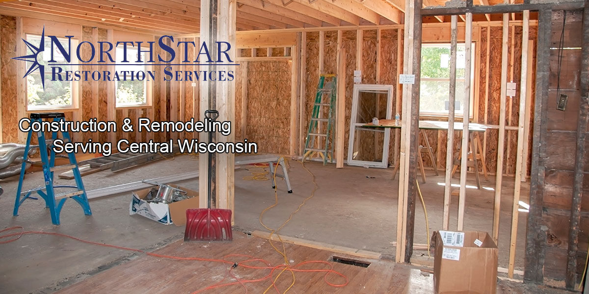 Residential construction remodeling in Merrill, WI