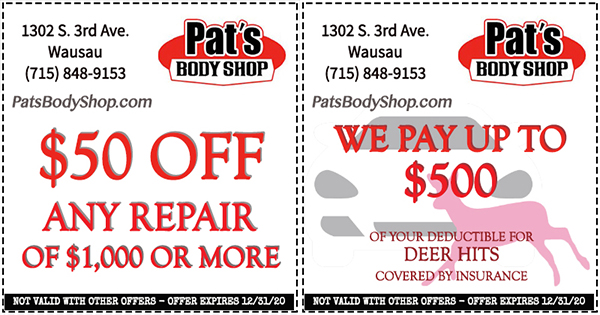 Auto & Transportation Coupons in Wausau Area